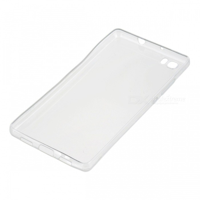 Ultra-Thin Protective Back Case Cover for Huawei P8 Lite - Transparent