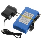 "DC 12680 12.6V ""6800mAh"" Battery w/ Switch & US Plug Power Adapter"