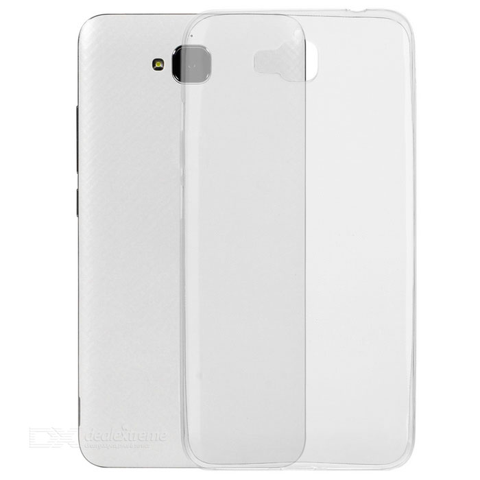 Protective Ultra-Thin TPU Back Case for Huawei Enjoy 5 - Transparent
