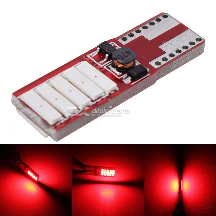 MZ T10 5W Canbus Red 10-LED Auto-Abstand Lampe / Kfz-Kennzeichen ...