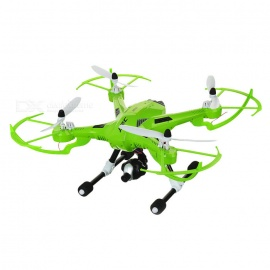 JJRC-H26D-RC-Quadcopter-Drone-w-Gyro-amp-360-Tumble-amp-Camera-Green-White