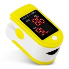 Fingertip-Blood-Oxygen-Saturation-Monitor-w-12-LCD-White-2b-Yellow