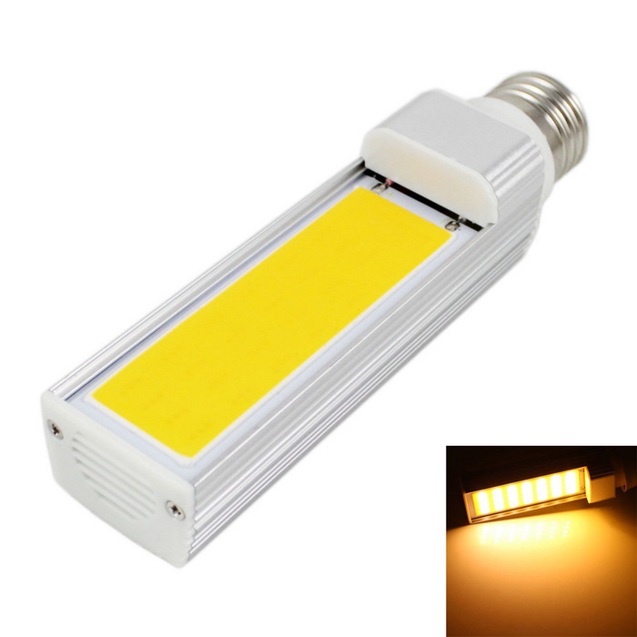 E27 9W COB LED Bulb Lamp Warm White Light 3000K 720lm - (AC 85265V)