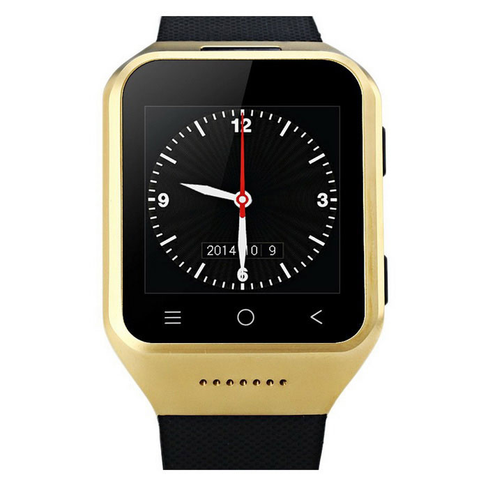 "S8 1.54"" 3G Android 4.4 Smart Watch Phone w/ GPS, Camera - Gold"