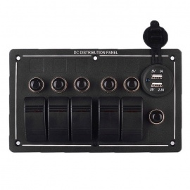 Waterproof-Car-Boat-Rocker-Switch-Panel-with-Dual-USB-Charger