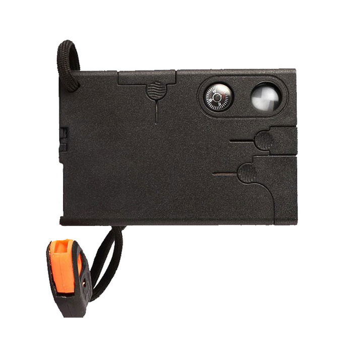 Buy 18 in1 Multifunctional Pocket Hunting Knife Credit Card Knives - Black with Litecoins with Free Shipping on Gipsybee.com