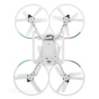 RC quadcopter drone fly leketøy m / 6-Axis gyro og LED lampe - hvit