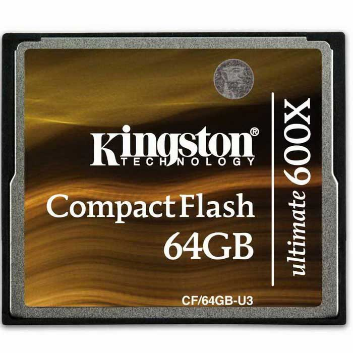 Kingston Digitales CF / 64GB-U3-Flashlaufwerk