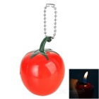 Tomato Style Butane Gas Refill Flame Lighter - Red