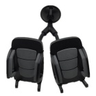 Universal-Car-Mount-Phone-Stand-w-Dual-Holders-for-IPHONE-6-Black