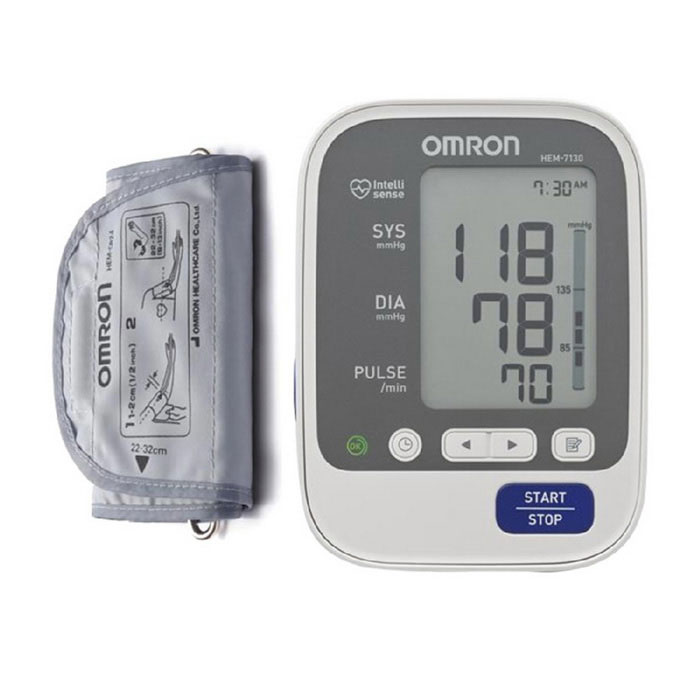 Omron HEM7130 Deluxe Upper Arm Blood Pressure Monitor