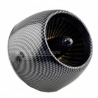 Universal Thread Dia 4.8cm Motorcycle Air Filter - Black + Grey