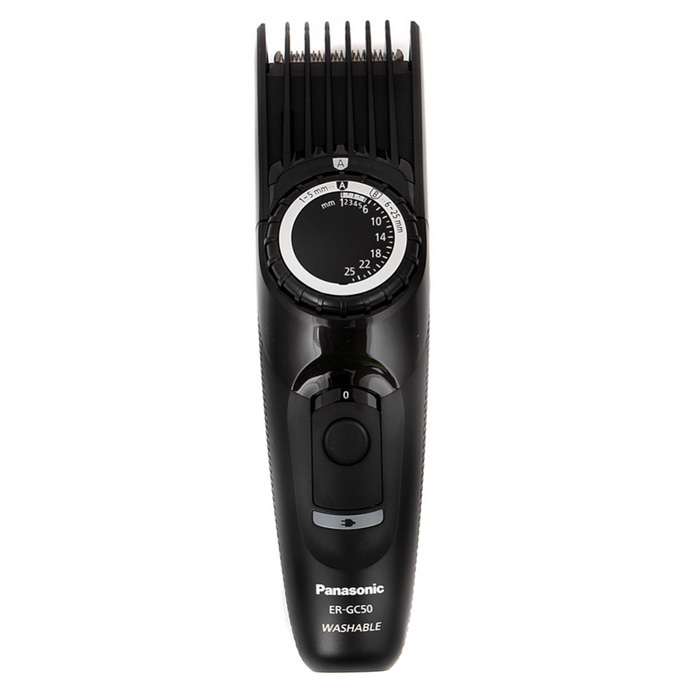Buy Panasonic ER-GC50 Hair Trimmer-Black with Litecoins with Free Shipping on Gipsybee.com