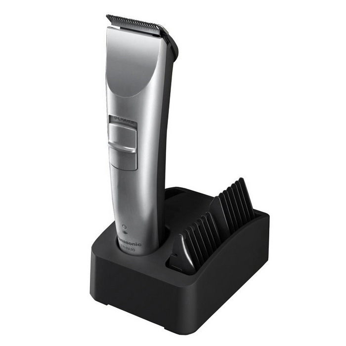 Buy Panasonic ER-PA10 Professional Hair Trimmer -Silver with Litecoins with Free Shipping on Gipsybee.com