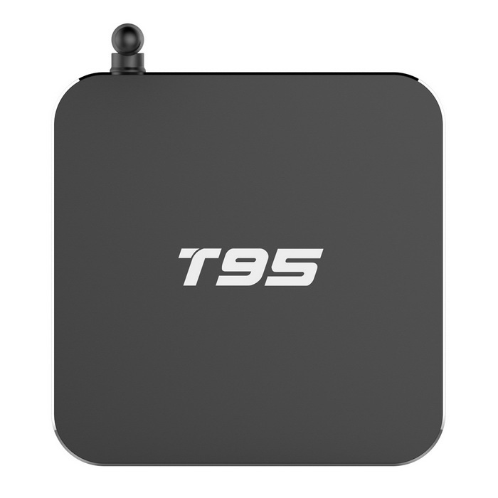 T95 Quad-Core Android 5.1 Smart TV Box podpora HDMI, HD, 4K, Wi-Fi, 1GB RAM, 8GBROM - Black