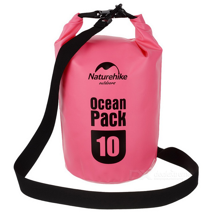 NatureHike Outdoor Sports Waterproof Storage Bag - Pink (10L)