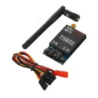 TS832 5.8g 600mW FPV Image Transmitter for R/C Aircraft - Black + Blue