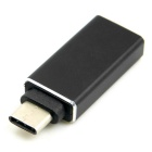 CY USB 3.1 Type C to A OTG Adapter for MACBOOK & Chromebook - Black
