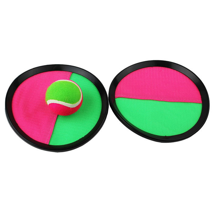 Sand Motion Plaything Paste Sticky Target Plate Ball Toy - Black