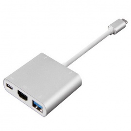 Type-C USB3.1 to USB3.1 & HDMI & USB3.0 Adapter Cable for Macbook