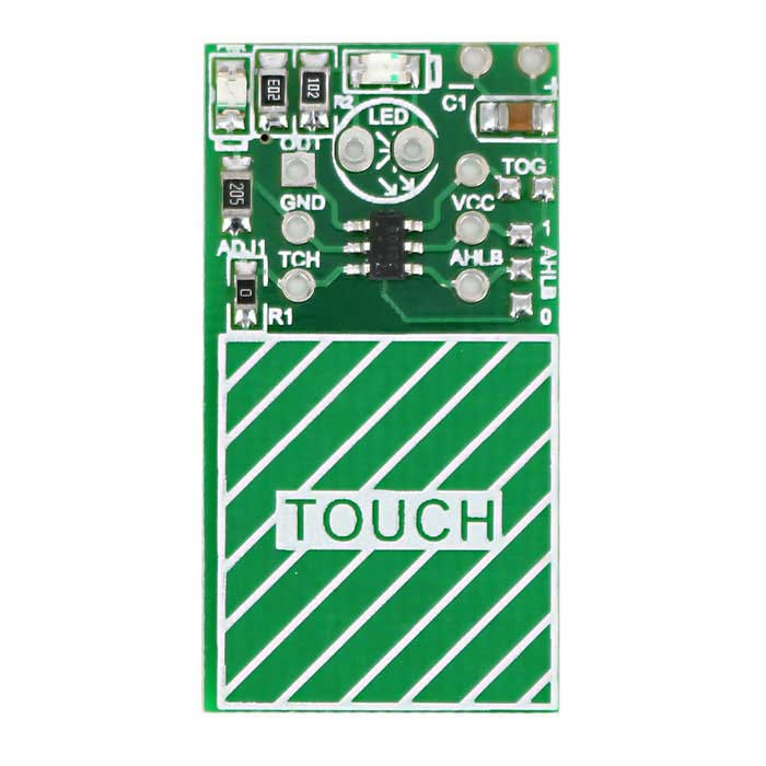 Single Channel Digital Capacitive Touch Sensor Switch Module