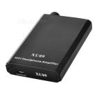 3.5mm / Micro USB Portable Rechargeable HIFI Amplifier - Black