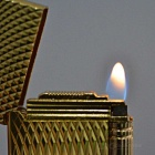 Cigarette Classic Design Gaz Butane Lighter - Golden