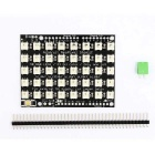 40 RGB LED WS2812B Shield / 40 RGB LED Pixel Square Development Board modul pro Arduino