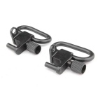ACCU BD05 Aluminum Alloy Sling Swivel Mount - Black (2PCS)