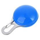 Outdoor Cycling Blue Light LED Clip Buckle Safety Warning Bike Saddle Seat Pendant - Blue