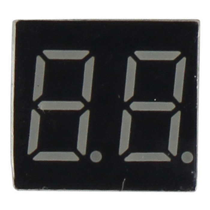 Buy 2-Digit 10-Pin Common Anode 0.36 Inch Digital Display Module for Arduino with Litecoins with Free Shipping on Gipsybee.com