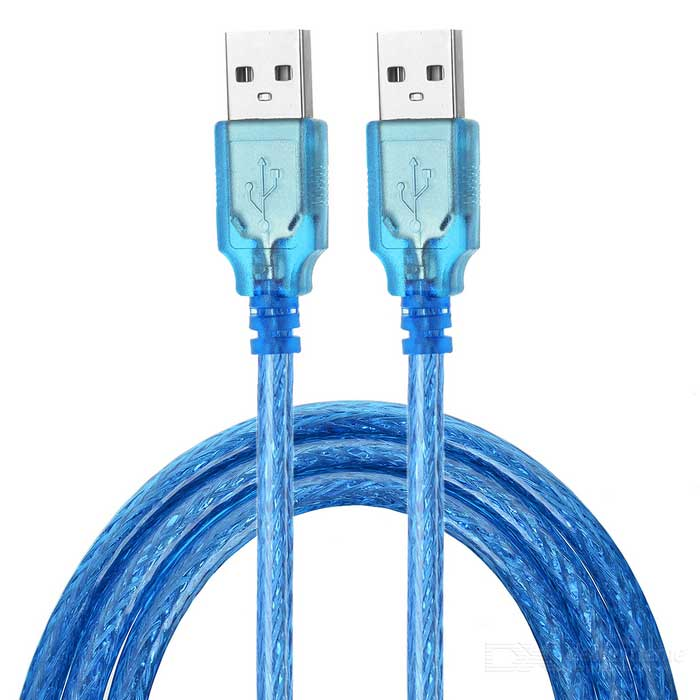 MAIKOU USB 3.1 Type C OTG Adapter + USB Charging Cable Set - Blue + Deep Pink