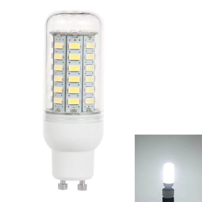 GU10 5W 700lm 6500K 56-SMD 5730 LED Cold White Light Corn Lamp (110V)