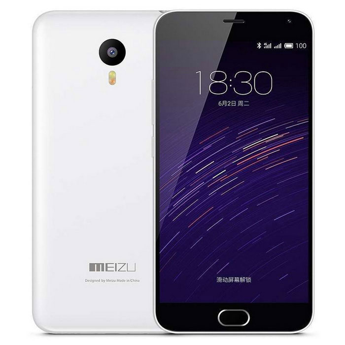"MEIZU Meilan Note2 Android 5.1 MTK6753 Octa-Core 4G Phone w/ 5.5"" FHD, 2+16GB Dual SIM -White"