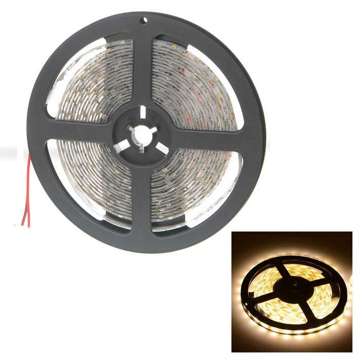 HML High Light 24W 2400lm 3300K 300 x SMD 2835 LED Waterproof Light Strip (5M / 12V)