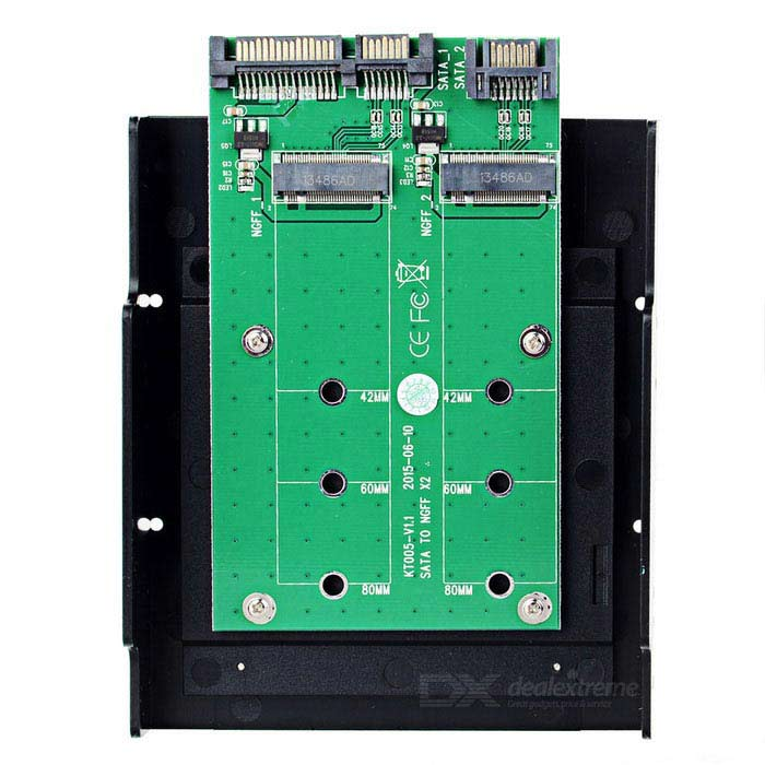 MAIWO KT005 SATA to NGFFX2  Adapter Card