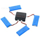 X4A-A03 4-500mAh Batteries + 1-to-4 Charger + TOL Converter + Charger + Data Cable Set