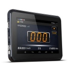 "New 7"" HD Android4.4 Car GPS Navigator & 1080P DVR & Radar Detector w/ AVIN / Wi-Fi / FM 16GB EU Map"