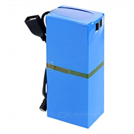 Rechargeable-DC-121500-126V-15000mAh-Battery-w-Switch-Blue