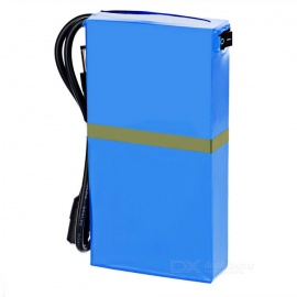 Rechargeable-DC-1248A-126V-4800mAh-Battery-w-Switch-LED-Light-Blue