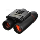CTSmart 8X 21mm Sports de plein air Pêche Grossissement Blue Film HD Binocular Telescope - Noir