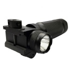 New 20mm Tactical Grip w/ 180lm White Light LED Flashlight / Red Laser - Black (2*CR123A)