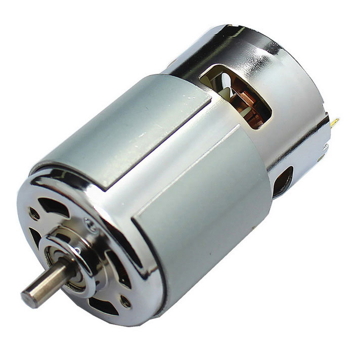 Ball Bearing High Torque Mute RS-775 DC Brush Spindle Motor DC24V 8300RPM