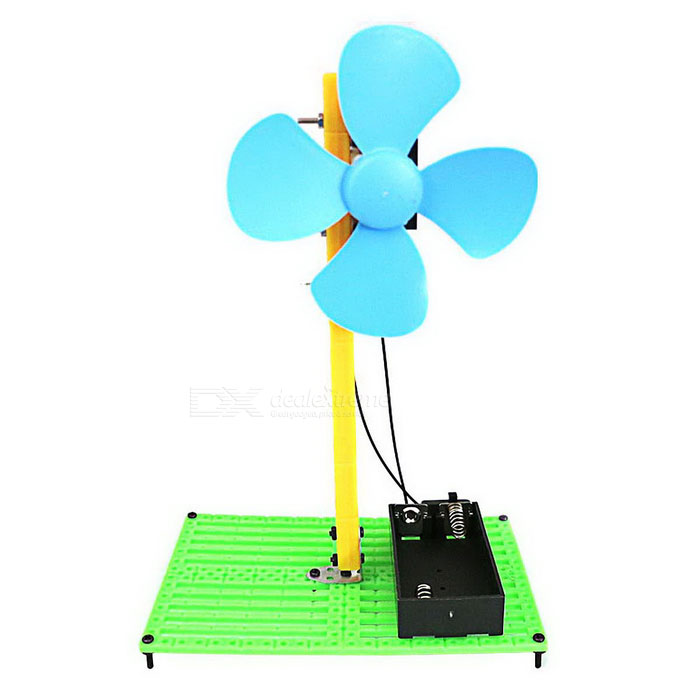 DIY Assembly Mini Fan Experiment Kit Educational Toy - Green + Black + Multi-Colored (2*AA)Educational Toys<br>Form  ColorGreen + Black + Multi-ColoredMaterialPlasticQuantity1 DX.PCM.Model.AttributeModel.UnitSuitable Age 3-4 years,5-7 years,8-11 years,12-15 years,Grown upsOther FeaturesBatteries are not includedPacking List1 x DIY kit1 x Screwdriver1 x Chinese user manual<br>