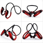 In-ear Sport Bluetooth 4.1 Music Headphone w/ Mic - Black + Red