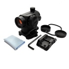 1X 22mm Quick Release Red Dot Sight Rifle Scope - Black (1*CR2032)