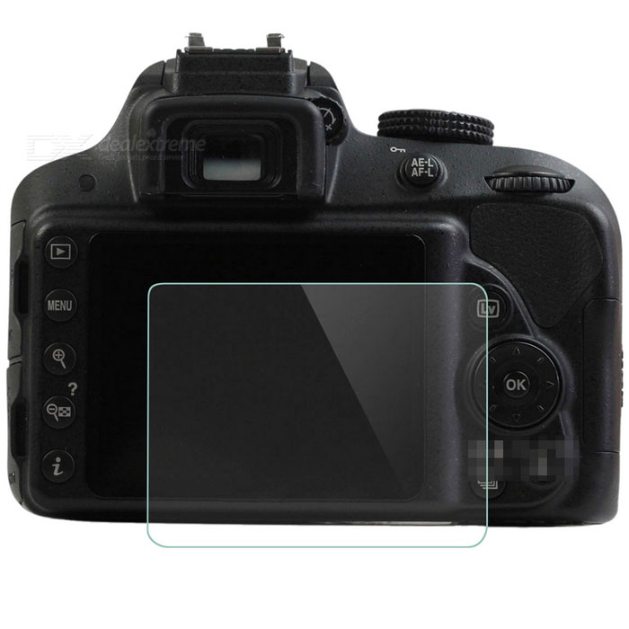 JJC HD Screen Protectors for Nikon D3300 D3200 - Transparent