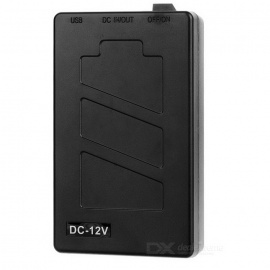 Rechargeable-DC-12680-12V-6000mAh-Battery-w-Switch-LED-Lamp-Black