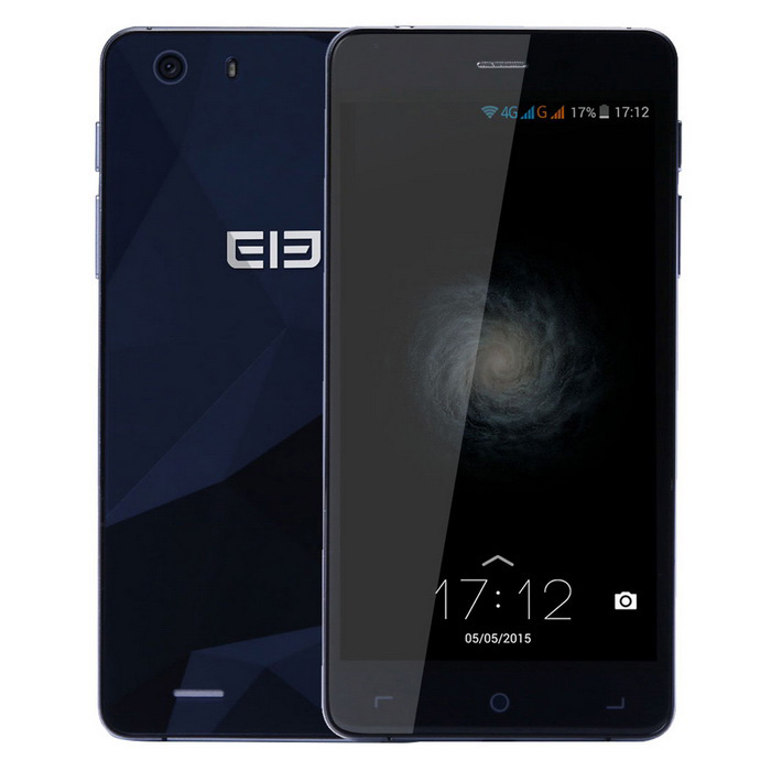 elephone S2 android 5.1 quad-core 4G bar phone - azul
