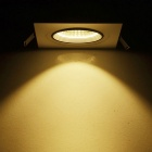 JIAWEN 8W Dimmable Anti-glare COB LED Ceiling Light Warm White 3000~3200K 0~640lm (AC 85~265V)